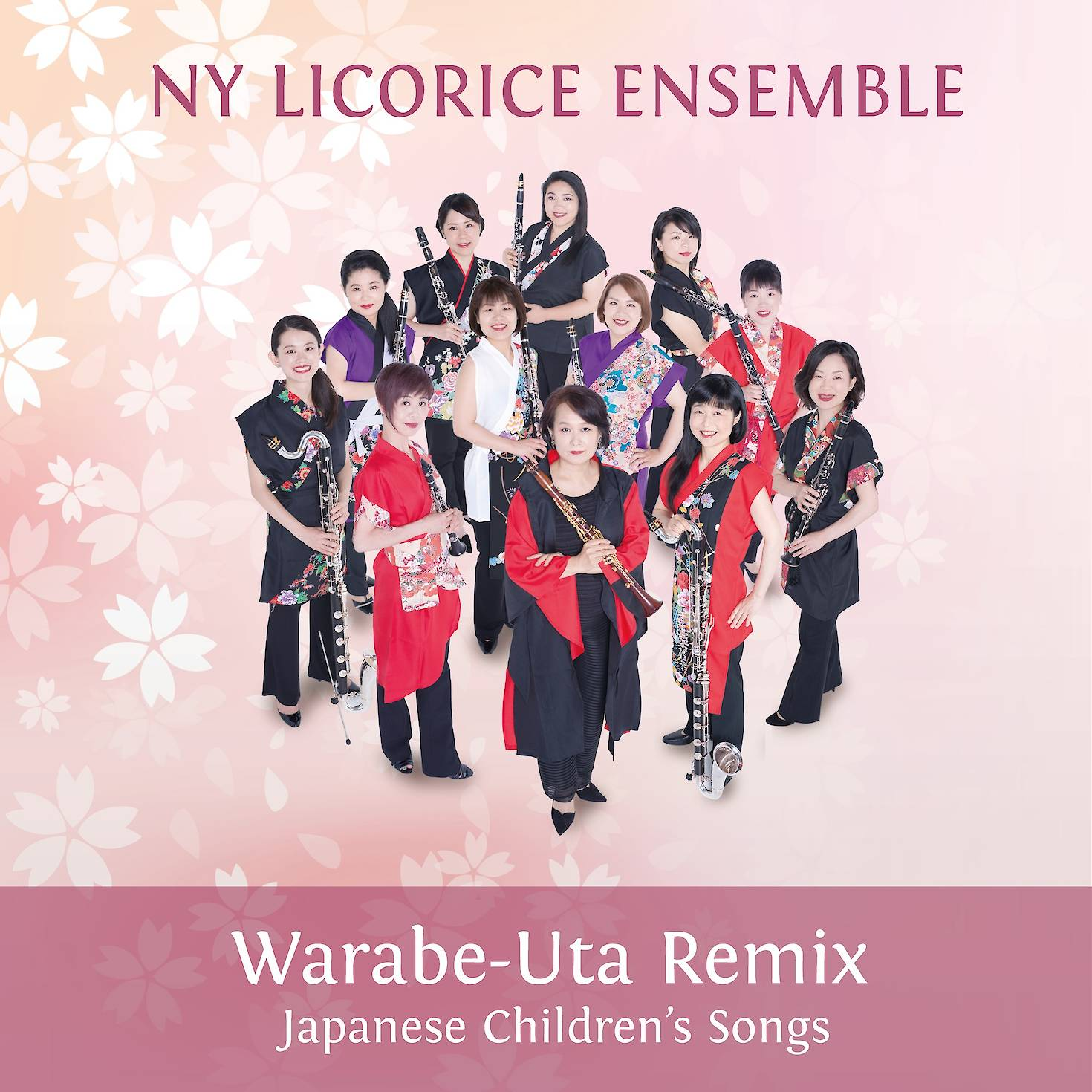 NY Licorice Ensemble: Warabe-Uta Remix cover