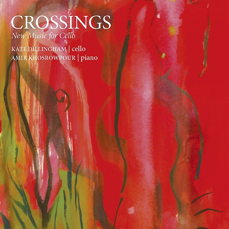 CROSSINGS: New Music for Cello cover